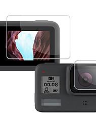 Недорогие -Протектор объектива камеры Водоотталкивающие Защита Лучшее качество Для Экшн камера Отдых и Туризм На открытом воздухе Разные виды спорта ПК