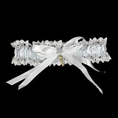 dantel kemerli düğün eşyaları, şerit düğün aksesuarları, klasik şık tarzı