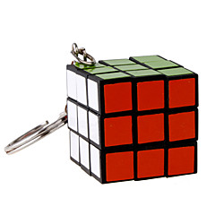cheap -3*3*3 Magic Cube Key Chain Mini Gift Cute Plastic 1/5/10 pcs Pieces Adults' Children's Boys' Girls' Toy Gift