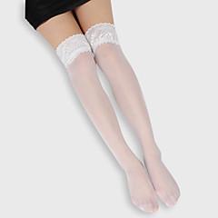 billige Moteundertøy-kvinners sokker& strømpebukser stretchy akryl knee høyder hold ups strømper