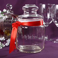 cheap Table Centerpieces-Material Glass Table Center Pieces - Personalized Others Tables Apothecary Candy Jar Bowknot Spring Summer Fall Winter All Seasons