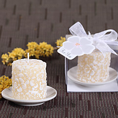 cheap Candle Favors-Garden Theme Fairytale Theme Candle Favors - 1 Candle Favors Candles Gift Box
