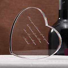 billige Ring Bearer Gifts-Krystall Krystall Varer Par Foreldre Bryllup jubileum Innflytningsfest Gratulerer Takk skal du ha Virksomhet