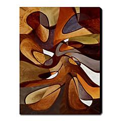 absztrakt olajfestmény 1211-ab0135 kézzel festett vászon