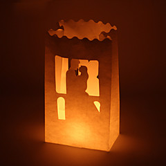 billige Bryllupsdekorasjoner-Stearinlys og lysestake Blandet Materiale Bryllupsdekorasjoner Bryllup / Fest / Bryllupsfest Hage Tema / Klassisk Tema Alle årstider