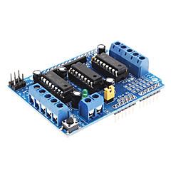 رخيصةأون -L293D توسيع سائق موتور للسيارات التحكم درع المجلس (الأزرق)