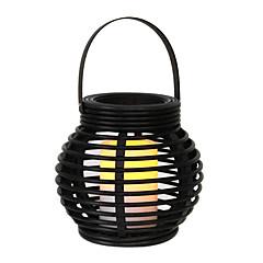 012W Artistieke Gele LED Solar Garden Light in Candle Feature