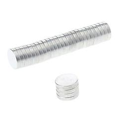 tanie Zabawki magnetyczne-Zabawki magnetyczne Klocki Magnes neodymowy Magnesy ziem rzadkich 30pcs 10mm*2 Magnes Magnetyczne Cylindryczny Zabawki Prezent