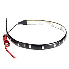 Led Lys Striper 30Cm, Rød / Hvit / Blå-Stråle