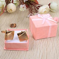 cheap Groom Gifts-Stainless Steel Cufflinks & Tie Clips Groom Groomsman Wedding Anniversary Birthday Business