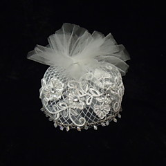 billige -rhinestone net fascinators headpiece klassisk feminin stil