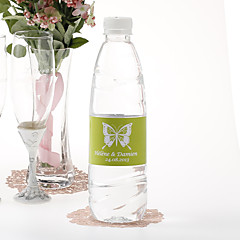 cheap Stickers, Labels & Tags-Personalized Water Bottle Sticker - Butterfly (Set of 15) Wedding Favors