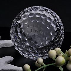 tanie Prezenty dla Panny Młodej-prezenty druhna prezent kryształ pamiątkę spersonalizowanych golfowe