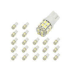 cheap Daytime Running Lights-10 x T10 20-SMD 1210 White LED Car Lights Bulb 194 168 2825 W5W