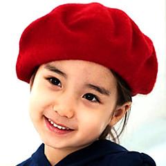 baratos Acessórios para Crianças-Para Meninas Capéus e Bonés Inverno Outros Preto Fúcsia Vermelho Azul Camel