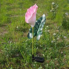 1PCS RGB kleur veranderende led zonne-energie Tuin Lamp In bloemvorm