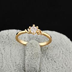 Yueli Női 18K Arany Cirkon Ring J0304