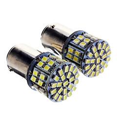 1157 Bil Lastebiler & Trailere Kaldt Hvit 5W SMD LED 6000 Instrument lys Leselys Sidemarkeringslys Bremselys Dørlampe