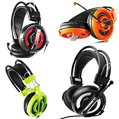 billiga Over-ear-hörlurar-007 Hörlurar (pannband) Hörlurar Med rörlig spole Plast Hörlur headset