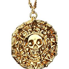 Men's Pendant Necklaces Skull / Skeleton Alloy Costume Jewelry Jewelry For Party Daily Casual Christmas Gifts