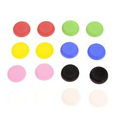 כובע סיליקון 16pcs צבעוני Nonslip PS4 בקר