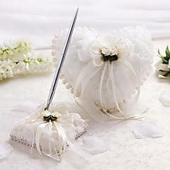 klasický motiv kolekce set s faux perleťový slavnostní svatební obřad