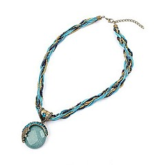 cheap Necklaces-Women's Turquoise Twisted Pendant Necklace - Bohemian, European, Fashion, Boho Red, Green, Blue 42+5 cm Necklace Jewelry 1pc For Party, Birthday, Gift, Daily, Casual