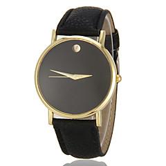 Pentru femei Ceas La Modă Quartz imitație de diamant PU Bandă minimalist Negru Alb Maro