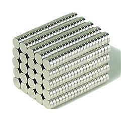 olcso Mágneses játékok-Mágneses játékok Építőkockák Super Strong ritkaföldfémmágnes Ndfeb Neodymium Mmagnet körkörös henger 200 Darabok 3*1mm Játékok Mágnes