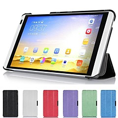 billige Nettbrettetuier-smart ultraslanke stand lærveske deksel for Huawei MediaPad m1 s8-301w tablett