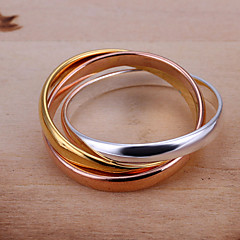 cheap Rings-Women's Ring Silver Stylish Wedding Party / Evening Costume Jewelry