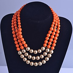 Strands Necklaces Alloy Party / Daily / Casual Jewelry
