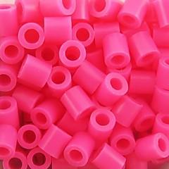 aproximativ 500pcs / sac 5mm crescut margele Perler fuziona margele margele HAMA DIY puzzle eva safty materiale pentru copii