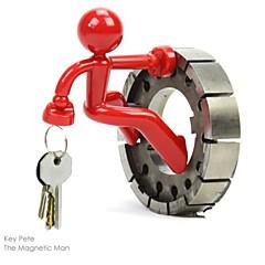 Magnetic Man nøgleringe nøgler indehaver (tilfældig farve) den