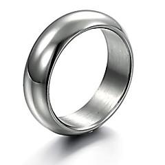 levne -Prstýnky Párty / Denní / Ležérní Šperky Slitina Muži Široké prsteny