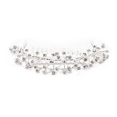 Χαμηλού Κόστους Εξατομικευμένα Κοσμήματα-εξατομικευμένη γυναικών / κράμα / κυβικό ζιρκονία headpiece λουλούδι κοριτσιού - χτένες για τα μαλλιά γάμο / ειδική περίσταση / λουλούδια