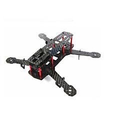 preiswerte Upgrade-Teile für ferngesteuerte Modelle-qav250 c250 Kohlefaser Mini 250 FPV Quadcopter Rahmen Mini-h Quad-Rahmen