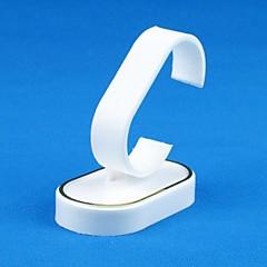 baratos Miçangas & Fabricação de Bijuterias-Expositores de Jóias - Resina Fashion Branco 7 cm 4.5 cm 7 cm / Mulheres