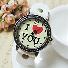 baratos Relógios-Mulheres Unisexo Relógio de Moda Chinês Azulejo Outro Banda Relógio de Pulso
