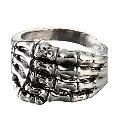 Ringer Daglig Smykker Titanium Stål uttalelse Ringe8 Sølv
