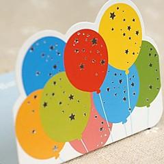 baratos -Dobrado de Lado Convites de casamento-Cartões de Aniversário Estilo Artístico Papel de Cartão