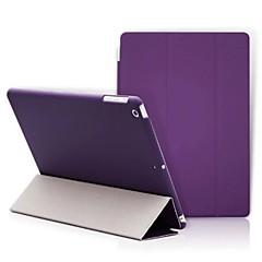 Für Hüllen Cover mit Halterung Origami Handyhülle für das ganze Handy Hülle Volltonfarbe Hart Kunst-Leder für Apple iPad (2017) iPad Pro