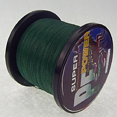 cheap Fishing Lines-1000M / 1100 Yards PE Braided Line / Dyneema / Superline Fishing Line Dark Green 28LB / 18LB / 10LB / 15LB / 12LB / 22LB