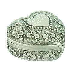 cheap Jewelry Boxes-Women's Jewelry Boxes Silver Alloy Fashion Daily