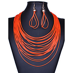 Women Vintage/Party/Work/Casual Alloy/Others Necklace/Earrings Sets