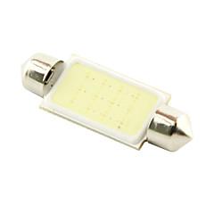 billige Interiørlamper til bil-SO.K 41mm Bil Elpærer 3W W COB 200 lm interiør Lights