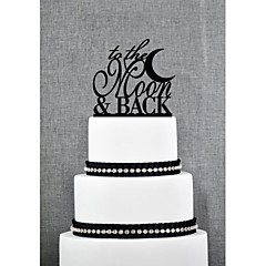 cheap Cake Toppers-Cake Topper Garden Theme Acrylic Wedding Anniversary Bridal Shower with 1 OPP