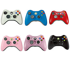 cheap Xbox 360 Accessories-DF-001 Bluetooth Controllers - Xbox 360 XBOX Bluetooth Gaming Handle Rechargeable Wired #