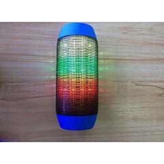 Langaton bluetooth kaiuttimet 2.1 CH Kannettava Ulkoilu Tuettu muistkortti Tuki FM Tuki usb levy LED-valo