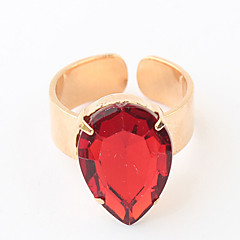 cheap Rings-Lucky Star Women's Vintage Candy Color Crystal Ring Elegant Style